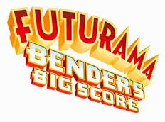 Futurama benders big score logo
