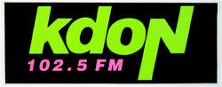KDON 102.5 FM