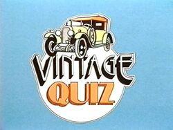 Vintage quiz