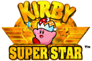 Kirby Super Star Logo