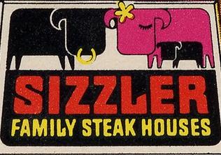Sizzler 1st logo 27 January 1958-20 September 1981