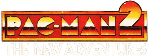 Pac man 2 the new adventures logo by ringostarr39-d7ufd0s