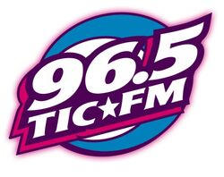 WTIC-FM's 96.5 Logo From The Late 1990's