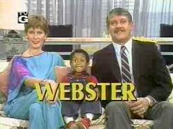 Webster Title Screen