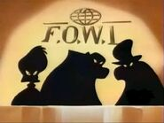 FOWL wall logo