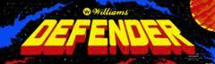 Defender video game logo