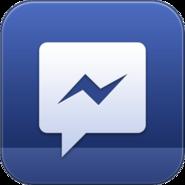Facebook Messenger icon old