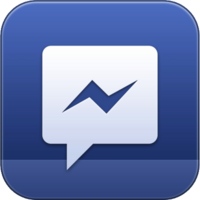 Facebook Messenger icon old