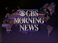 CBS Morning News 1987