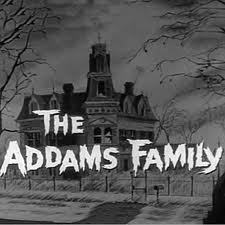 Addams family tv series logo
