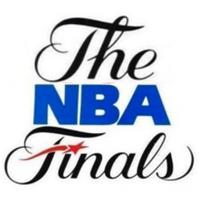 NBA Finals 80s 90s logo