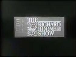 The Richard Boone Show