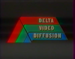 Delta Video Old Logo