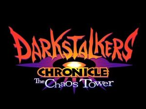 Darkstalkers Chronicle The Chaos Tower U.S. Logo
