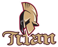 Acadie-Bathurst Titan logo (introduced 2014)