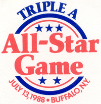 1988 Triple-A All-Star Game logo