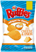Walkers Ruffles Cheese & Onion
