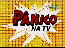 Logo panico na tv