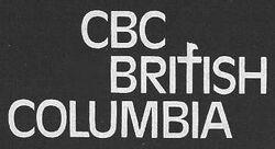 CBC British Columbia 1976 logo