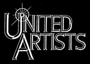 United artists 1994 logo white black background