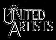 United artists 1994 logo white black background