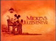Mickey's Juleeverntyr