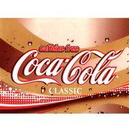 Decaffeinated Coca Cola Label