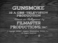 Cbs television-1955 gunsmoke