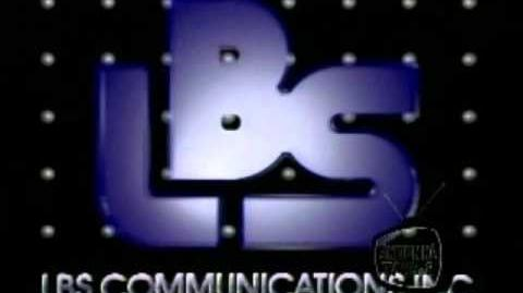 LBS Communications logo (1989)