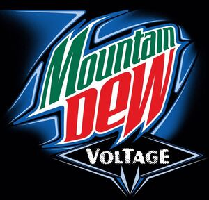Mountain Dew Voltage old logo