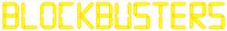 Blockbusters 1980s logo