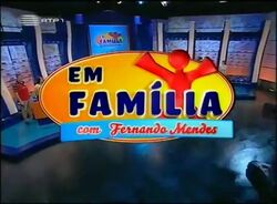 Em Familia con Fernando Mendes 2006