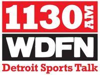 1130AM WDFN Sports Talk logo