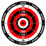 Bullseye Category Board Series 5