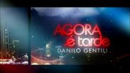 Agora É Tarde titlecard 2012
