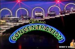 Classic Concentration Test Show Title