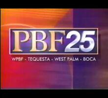 WPBF PBF 25 id montage 1997