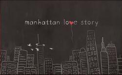 Manhattan Love Story Title Card