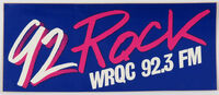 WRQC 92 Rock