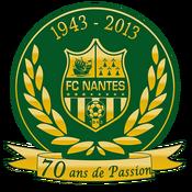 FC Nantes logo (70 ans de Passion)