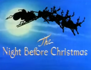 The Night Before Christmas title card