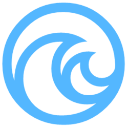The Living Seas Logo