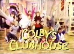 Colby's Clubhouse Logo 1986-1996