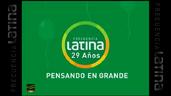 Logo Frecuencia Latina ID 29 Años Perú 2012