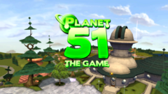 Planet 51 Wii Game In-Game Title 16x9
