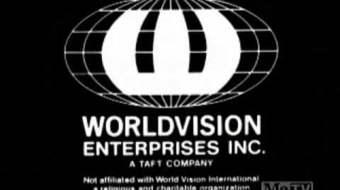 Worldvision Enterprises B&W logo (1983)