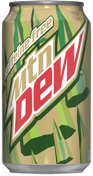 MtDew CafFree 12oz