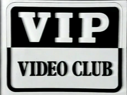 VIP Video Club Logo