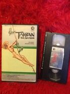 Tarzan the Ape Man MGM-CBS VHS