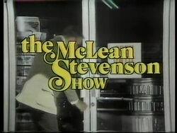 McLean Stevenson Show Logo
